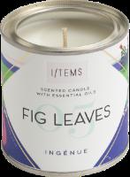 Ароматна свещ с етерични масла - 05 / FIG LEAVES