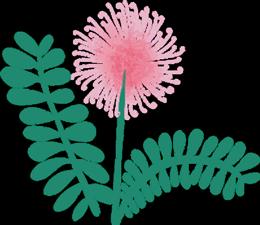 Ароматна свещ с етерични масла - 1/2 MOON FLOWER