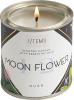 Scented Candle with essential oils - 1/2 MOON FLOWER