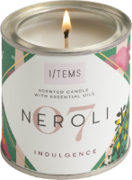 Ароматна свещ с етерични масла - 07 / NEROLI