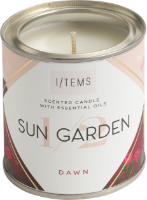 Ароматна свещ с етерични масла - 1/2 SUN GARDEN