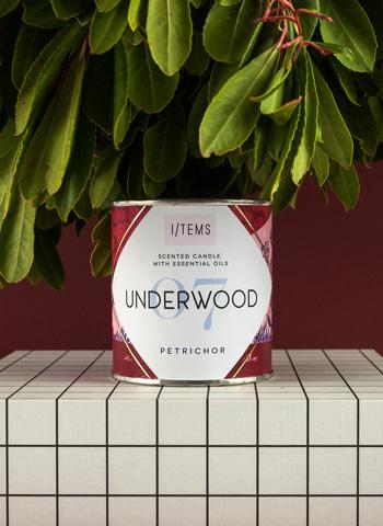 Ароматна свещ с етерични масла 07/UNDERWOOD