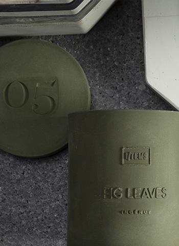 Ароматна свещ в керамична капсула - 05/FIG LEAVES