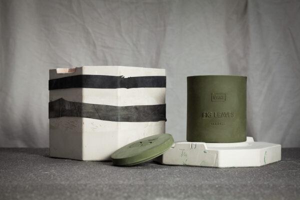 Ароматна свещ в керамична капсула за многократна употреба
