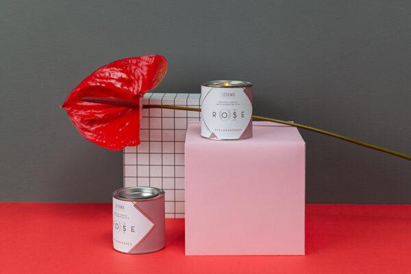 Сет от Ароматни свещи Valentine