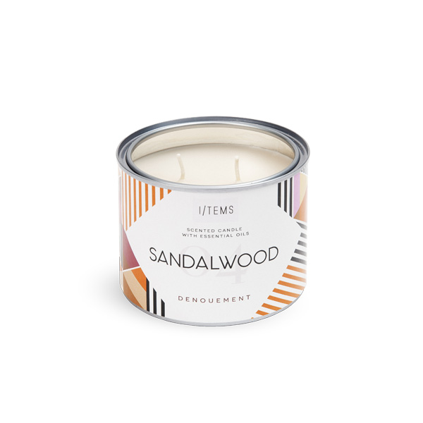 Outdoor Scented Candle 04 / SANDALWOOD